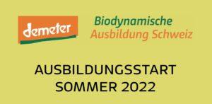 Infoanlass Biodynamische Ausbildung Schweiz